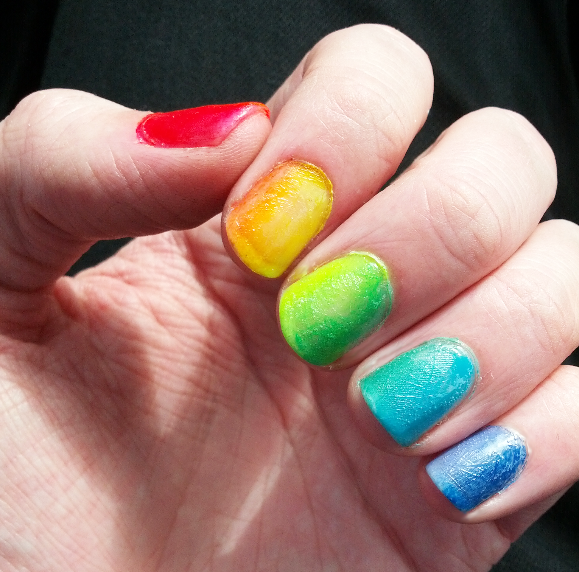 Really easy looks cool too i love it nails pinterest