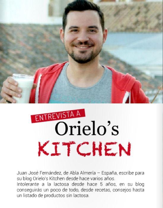 Entrevista a Juanjo de @orieloskitchen  - Recetas sin lactosa  #sinlactosa