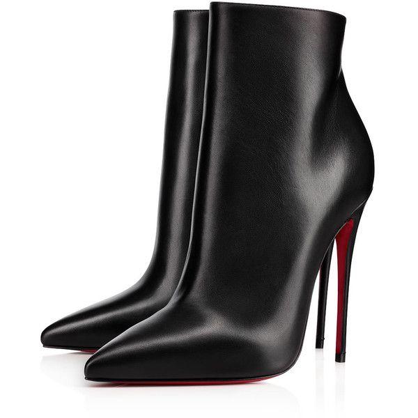 fb5e83e47916 So Kate Booty 100 BLACK Calf - Women Shoes - Christian Louboutin (75.130  RUB) ❤ liked on Polyvore featuring shoes