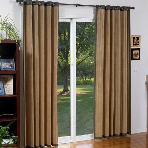 Blinds For Sliding Glass Doors   Alternatives To Vertical Blinds   The  Finishing Touch