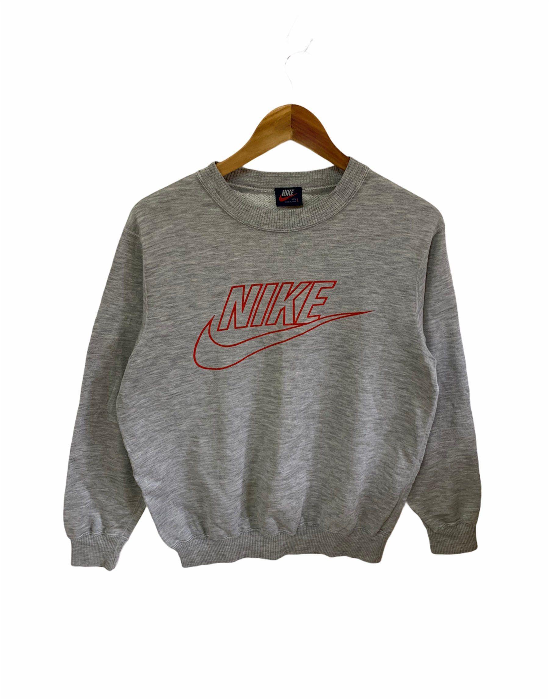 Vintage Nike Sweatshirt Nike Swoosh Made In Japan Large Size Etsy Vintage Nike Sweatshirt Nike Sweatshirts Vintage Nike [ 2292 x 1800 Pixel ]