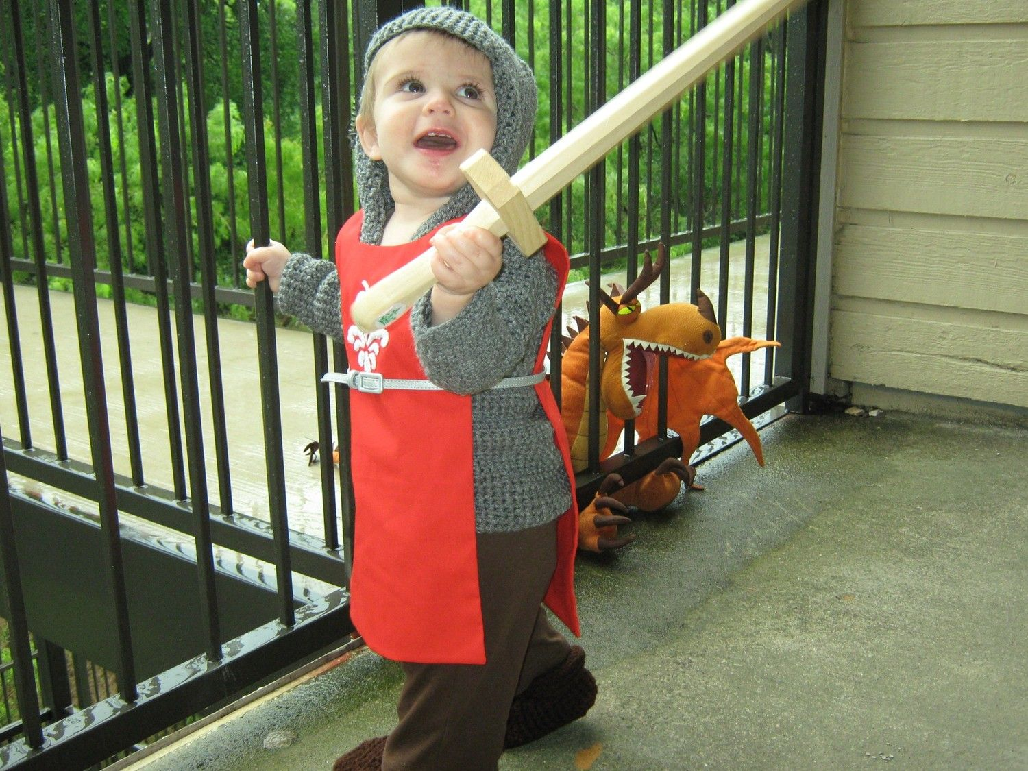 Infant Knight Costume