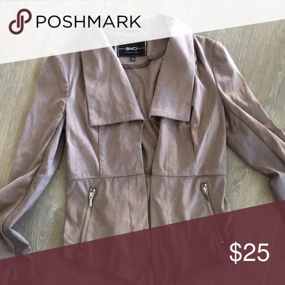 I just added this listing on Poshmark: Faux suede jacket never worn. #shopmycloset #poshmark #fashion #shopping #style #forsale #blanc noir #Jackets & Blazers