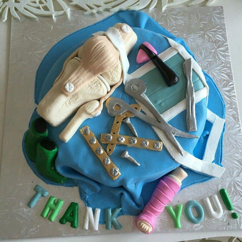Orthopaedic Surgeon Cake Miscellaneous Photos In 2019
