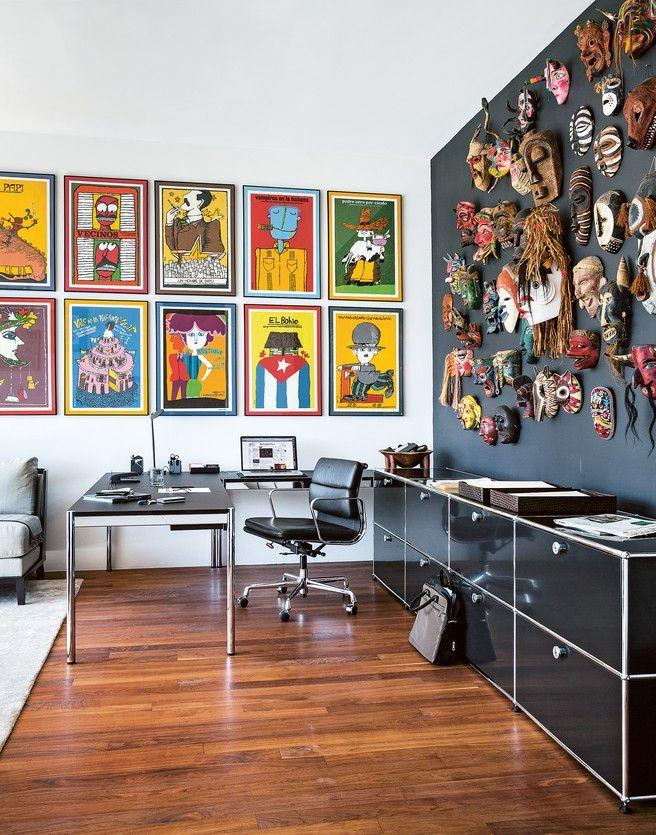 Home Office Haller Tisch mit Sideboard schwarz, Chefarbeitsplatz ...