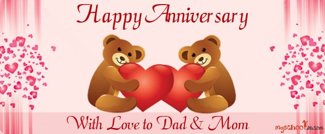 happy anniversary mom and dad happy anniversary with love 633 x - best of i love you mommy and daddy coloring pages