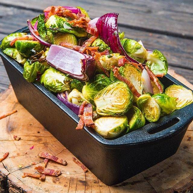 ChristmasBrussels Sprouts   Recipe   Traeger grill recipes ...