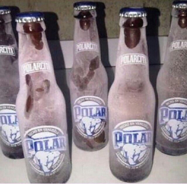 Bien quiero fria cerveza una