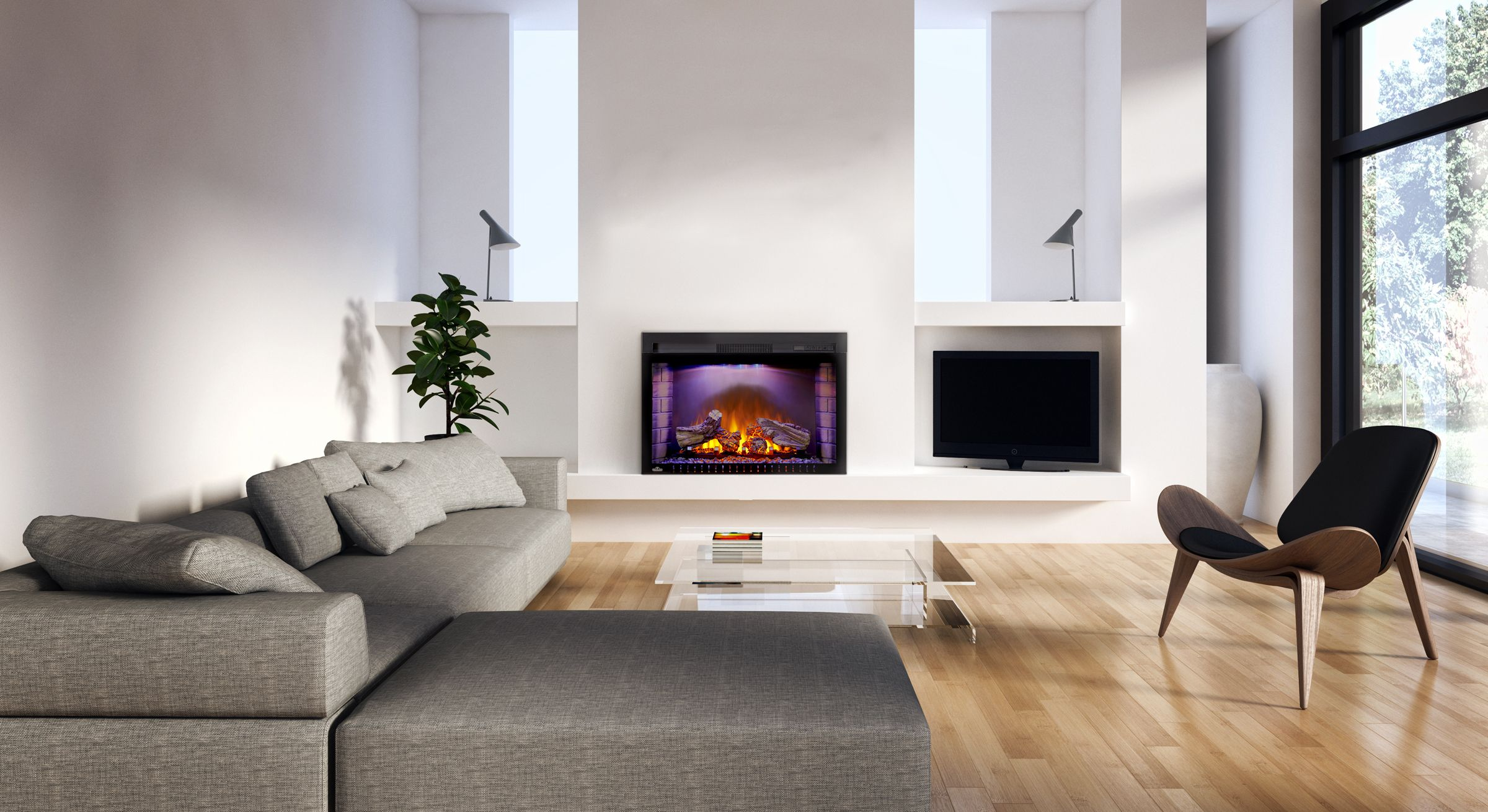 Imagine completely transforming your living space just by plugging ...