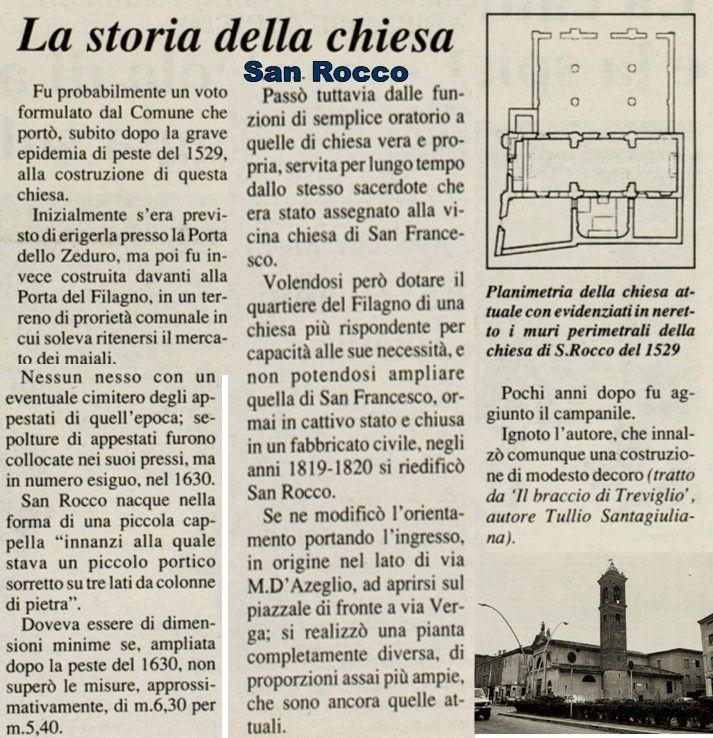 La storia della Chiesa San Rocco