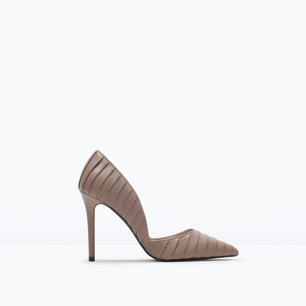 ZARA - WOMAN - PLEATED COURT SHOES