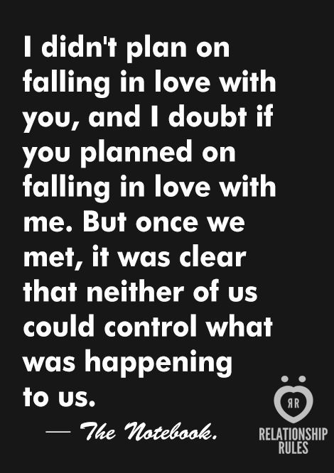 Falling in love in love with you