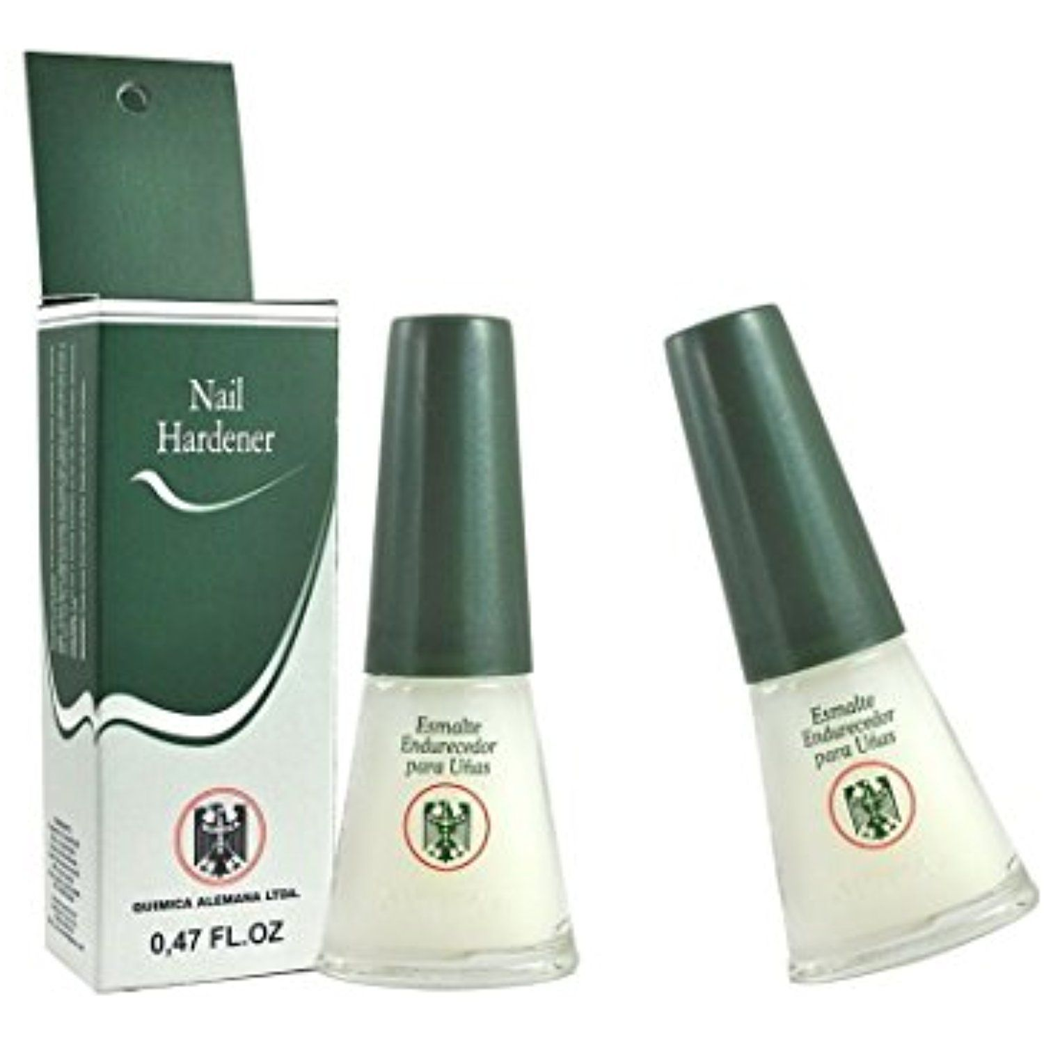 QUIMICA ALEMANA Nail Hardener (protective barrier prevents chipping ...