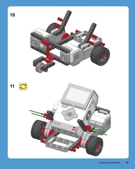 Step-by-step building instructions for a simple and sturdy LEGO ...