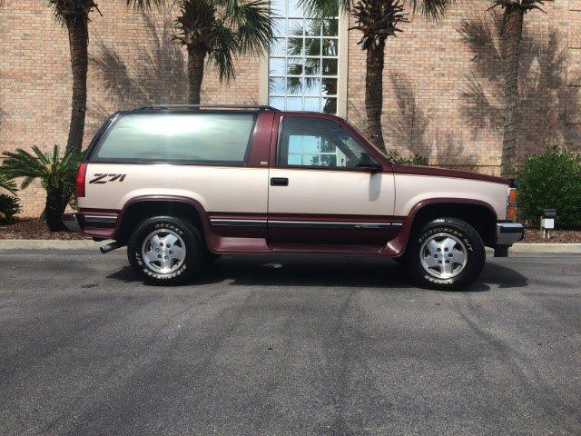 1992 Chevy Blazer Z71 4x4 2 Door Tahoe For Sale 86 000 Original