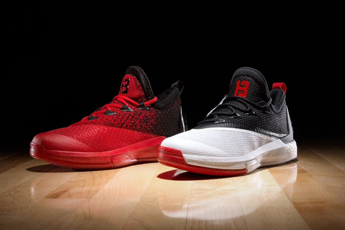 66145ccfaa1 adidas today unveils another version of the James Harden player editions of  the Crazylight Boost Designed to complement the Houston Rockets  uniforms