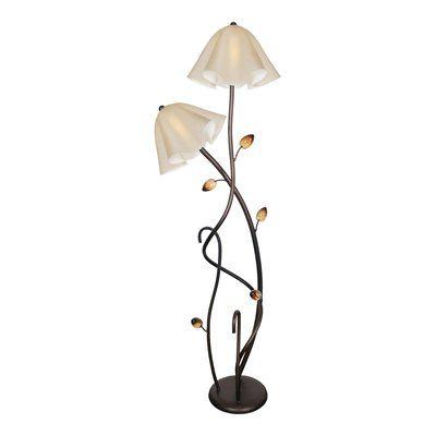 Van Teal 802263 You Will Remember Dancing Vines Floor Lamp   Floor ...