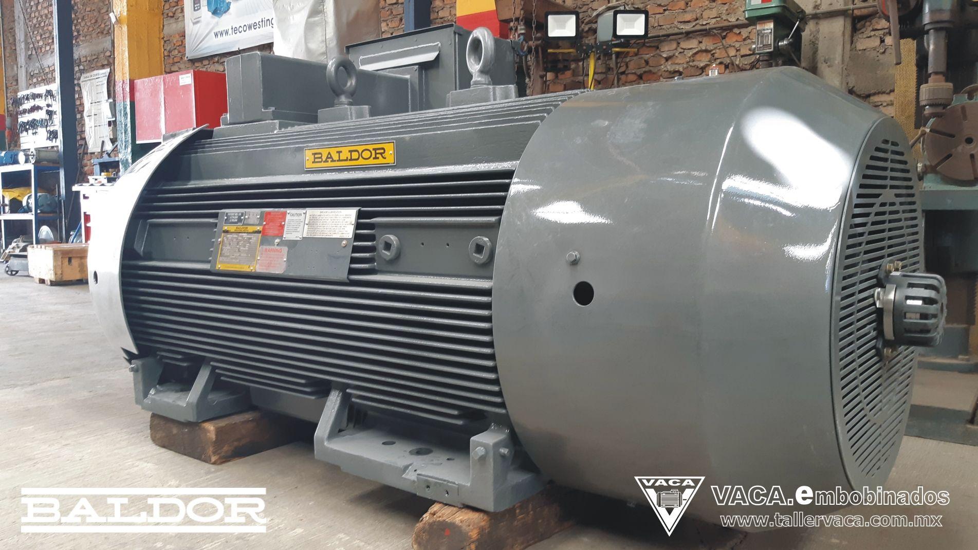 Motor Ca Baldor 700 Hp Motor Electrico Motores Baldor