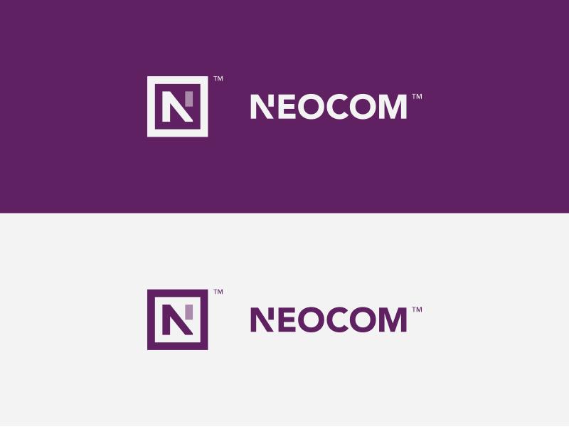 Neocom Logo Concept Logo Design Lettering