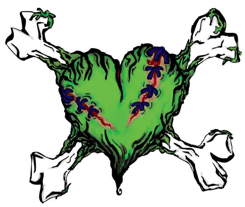 Zombie heart | Zombie tattoos, Voodoo doll tattoo ...
