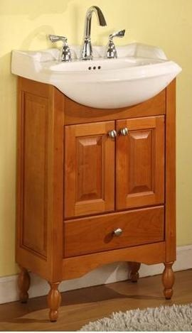 Windsor Narrow Depth Bathroom Vanity Base  Small Bathroom Ideas Delectable Narrow Depth Bathroom Vanity Inspiration Design