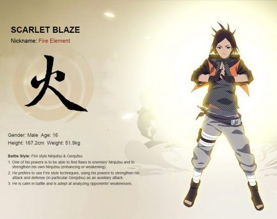 Naruto Online Azure Fang Build