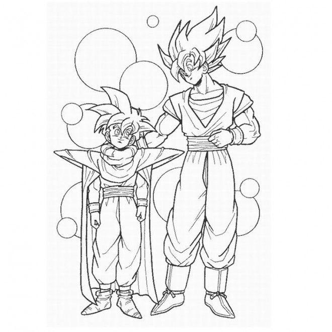 30 Dragon Ball Z Coloriage Sangoku Super Sayen 4 Nouveau ...