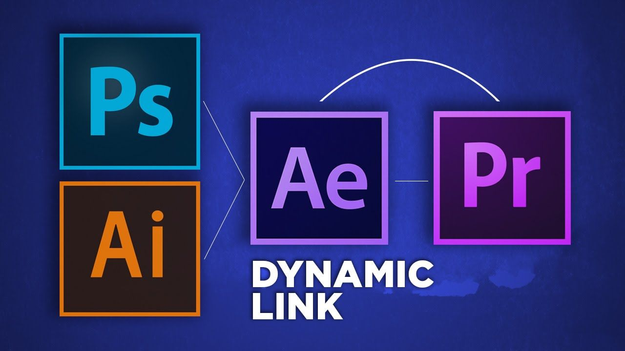 Dynamic Link Illustrator To After Effects To Premiere Pro