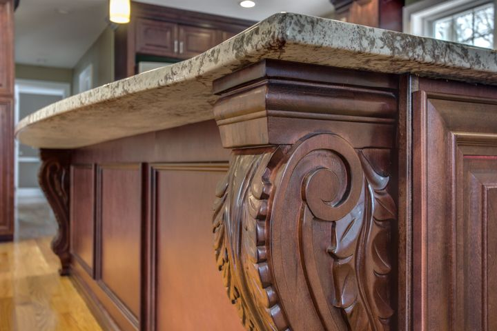 Idea by JK Cabinetry Boston on Mahogany Maple Collection ...