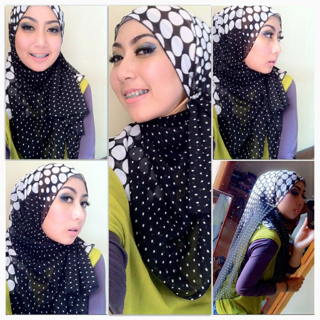 Arabian Style Hijab Tutorial DIY Hijab Pinterest Chubby