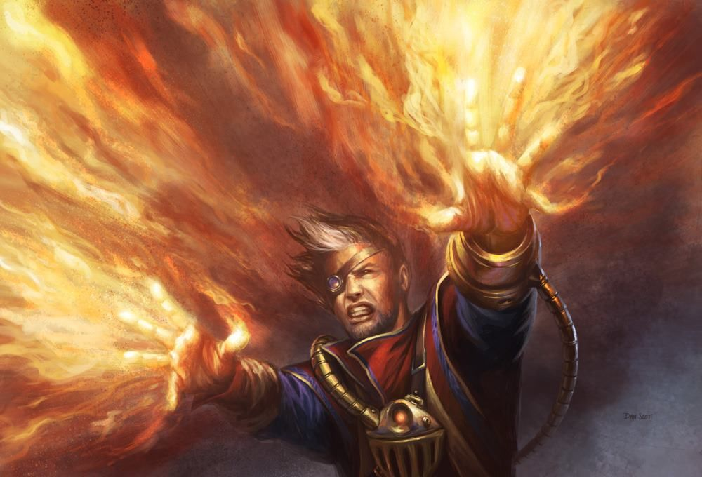 Burning Hands - Fire Evocation Magic #DungeonCrawling #Evocation #Spell  #Fire #Magic #DnD #Inspiration #Fantasy #JRusso | Magic art, Mtg art,  Fantasy artwork