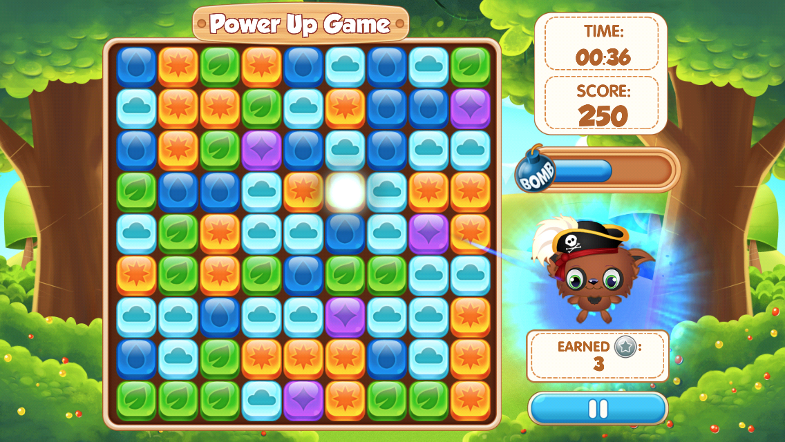Play fun minigames in Mighty Smighties & boost the power