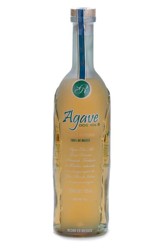 agave dos mil reposado tequila