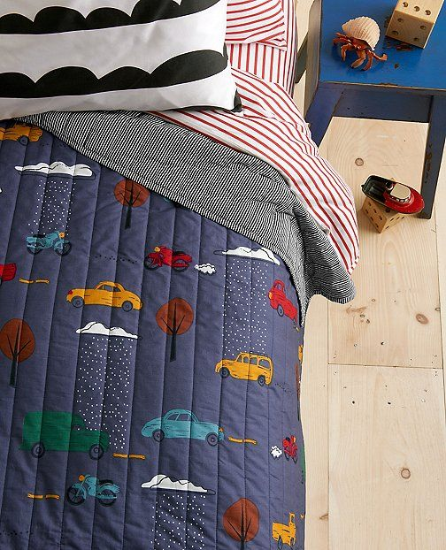 Our Cozy Supercrafted Keeper Quilt Is Ready To Vroom Right