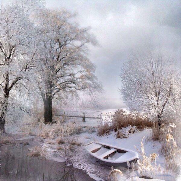 Зима - это сказка: красивая, белая, очень-очень чистая ...