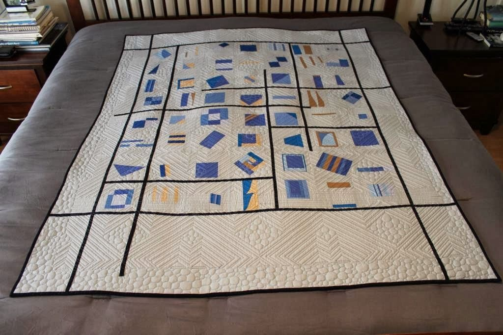Quilts SB: Q113 – Blumish Two – Quilt and Wall Hanging