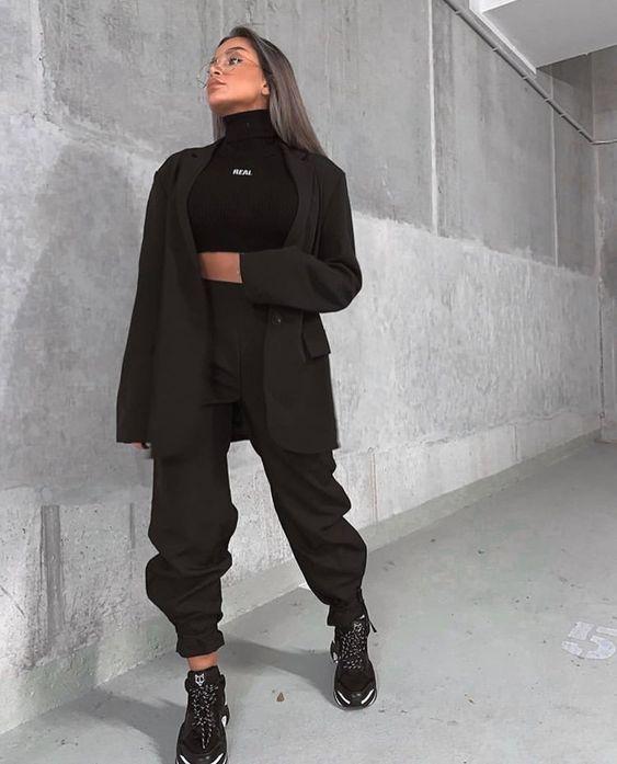 Outfits otoñales para las amantes de los pants