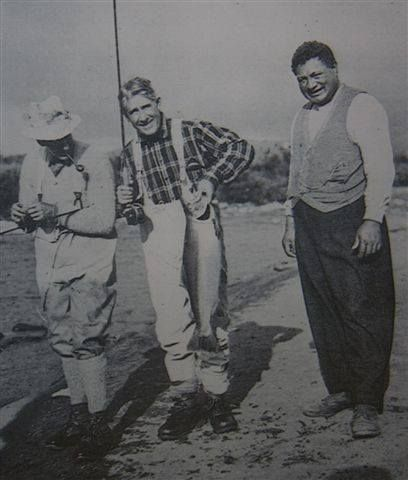 In 1925 the NZ government invited Hollywood producer, best-selling Western writer and renowned fisherman Zane Grey to New Zealand to go fishing. During his stay, Grey set game fishing world records and wrote 'The Angler's El Dorado' which positioned New Zealand as a premier sport fishing destination.