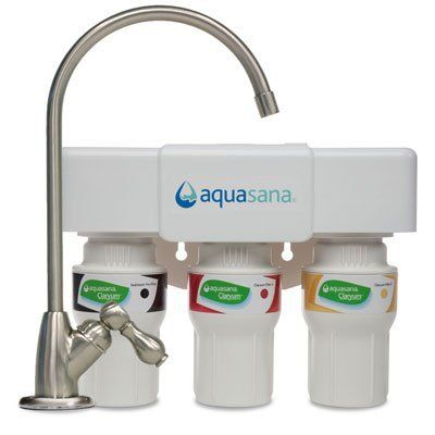 Aquasana Aq 5300 55 3 Stage Under Counter Water Filter System With