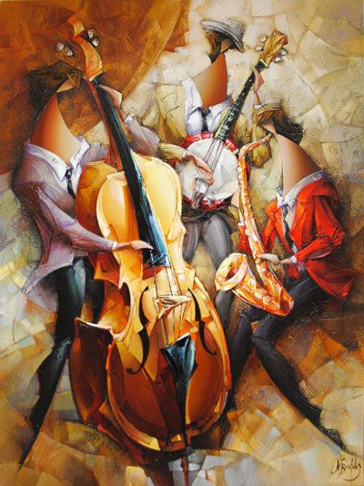 Music Wall Art Paintings
