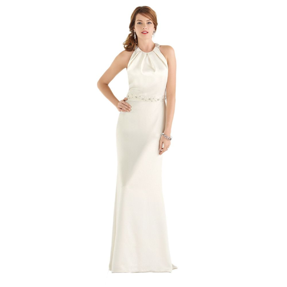 After six bridal womenus halter wedding gown wedding weddingdress