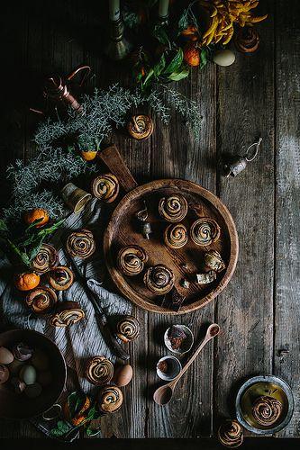 Citrus + Chocolate Brioche by Eva Kosmas Flores |