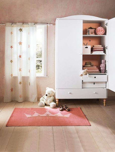 Vertbaudet Vorhang Aus Canvas Mit Sternen Girlande In Wollweiss Con Imagenes Muebles Para Bebe Decoracion De Ropa De Cama