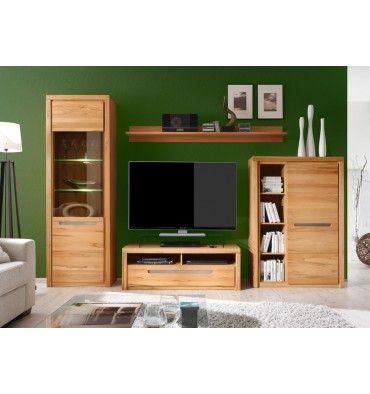 Ensemble meuble TV NORMA avec leds Réductions Azura