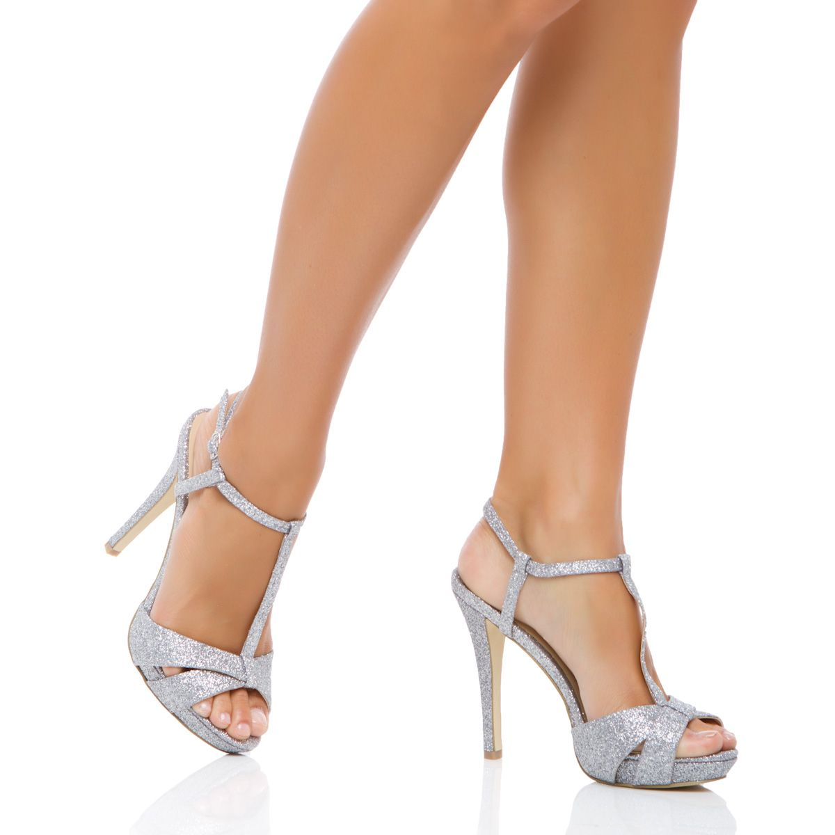 Cheap Silver Wedges Shoes