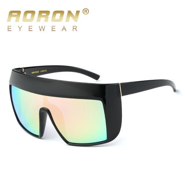 57338c9347 2017 Women Fashion Big Frame LA Cool High quality Sun Glasses UV400 ...