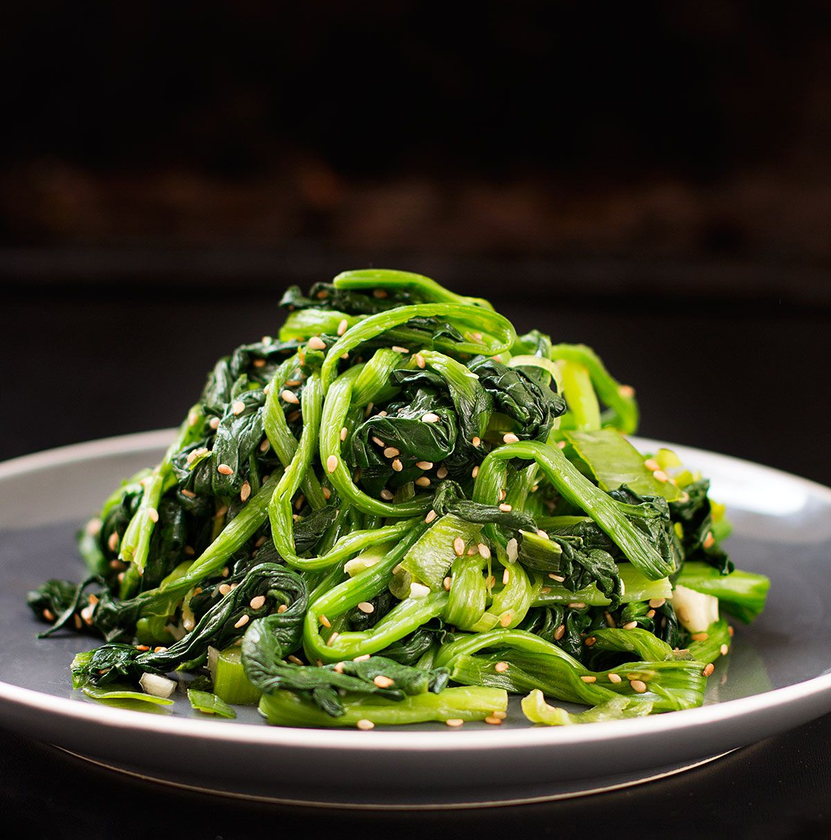 Try this light spinach salad recipe this korean spinach salad is try this light spinach salad recipe this korean spinach salad is one of the basic forumfinder Choice Image
