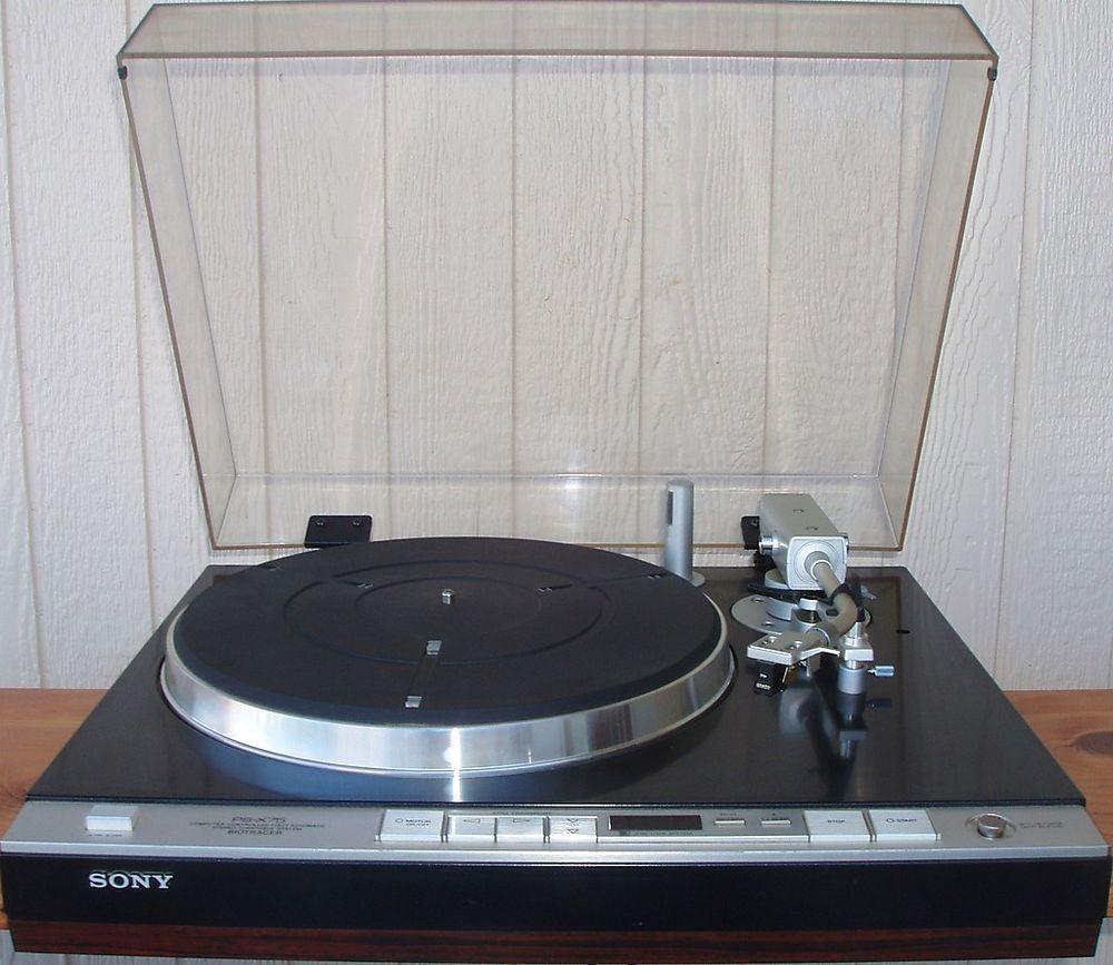 SONY #Biotracer PS X75 #DirectDriveTurnatble Automatic Stereo #Turntable W  #Grado F1+