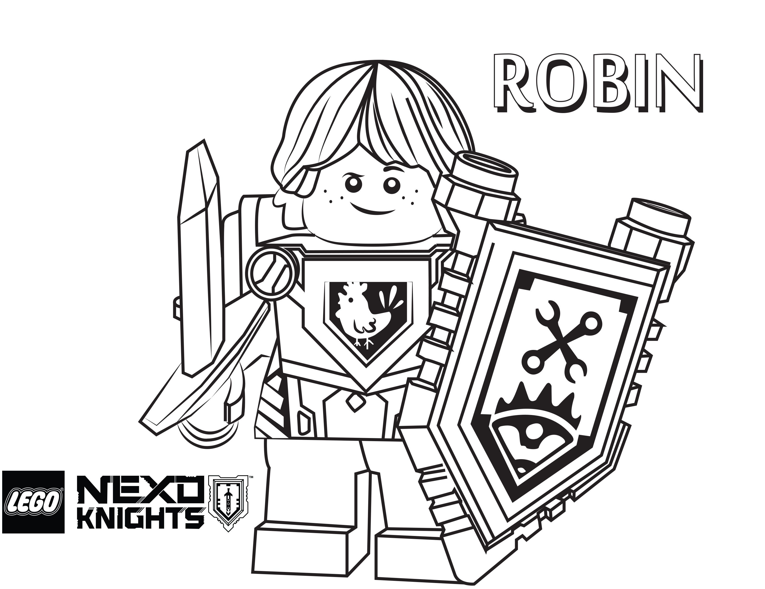 Free coloring pages knights and dragons