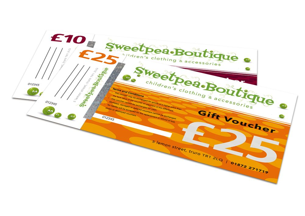 Gift Voucher Format These Gift Vouchers Form Part Of The Promotional Materials For The .